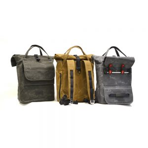 THE URBAN TRAVELLER in oliv, tan und grau