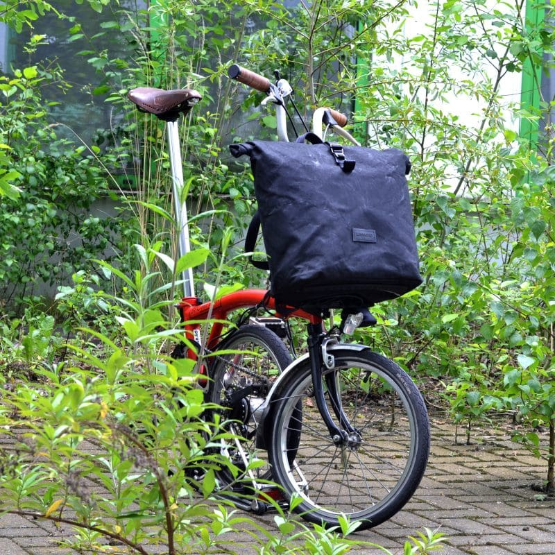 THE URBAN TRAVELLER for the Brompton bike in black