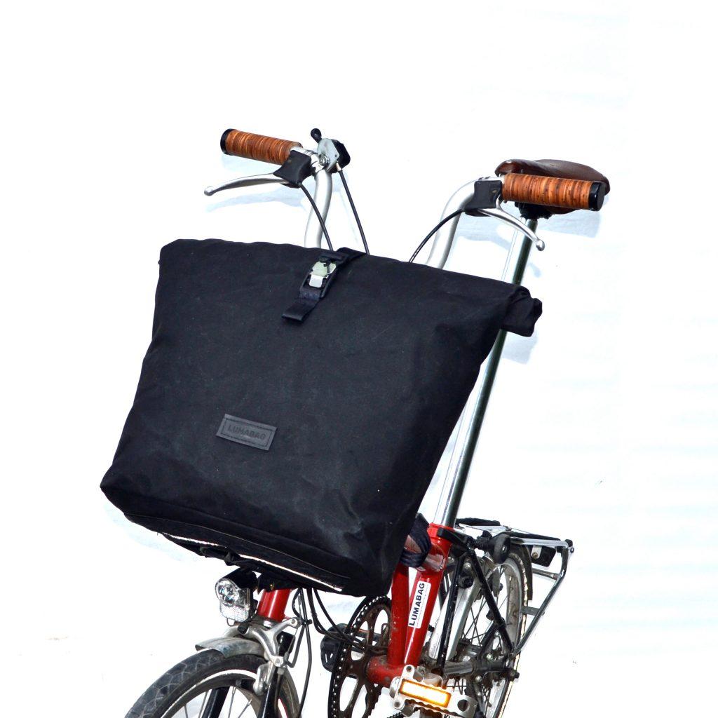 Rucksack für Brompton schwarz