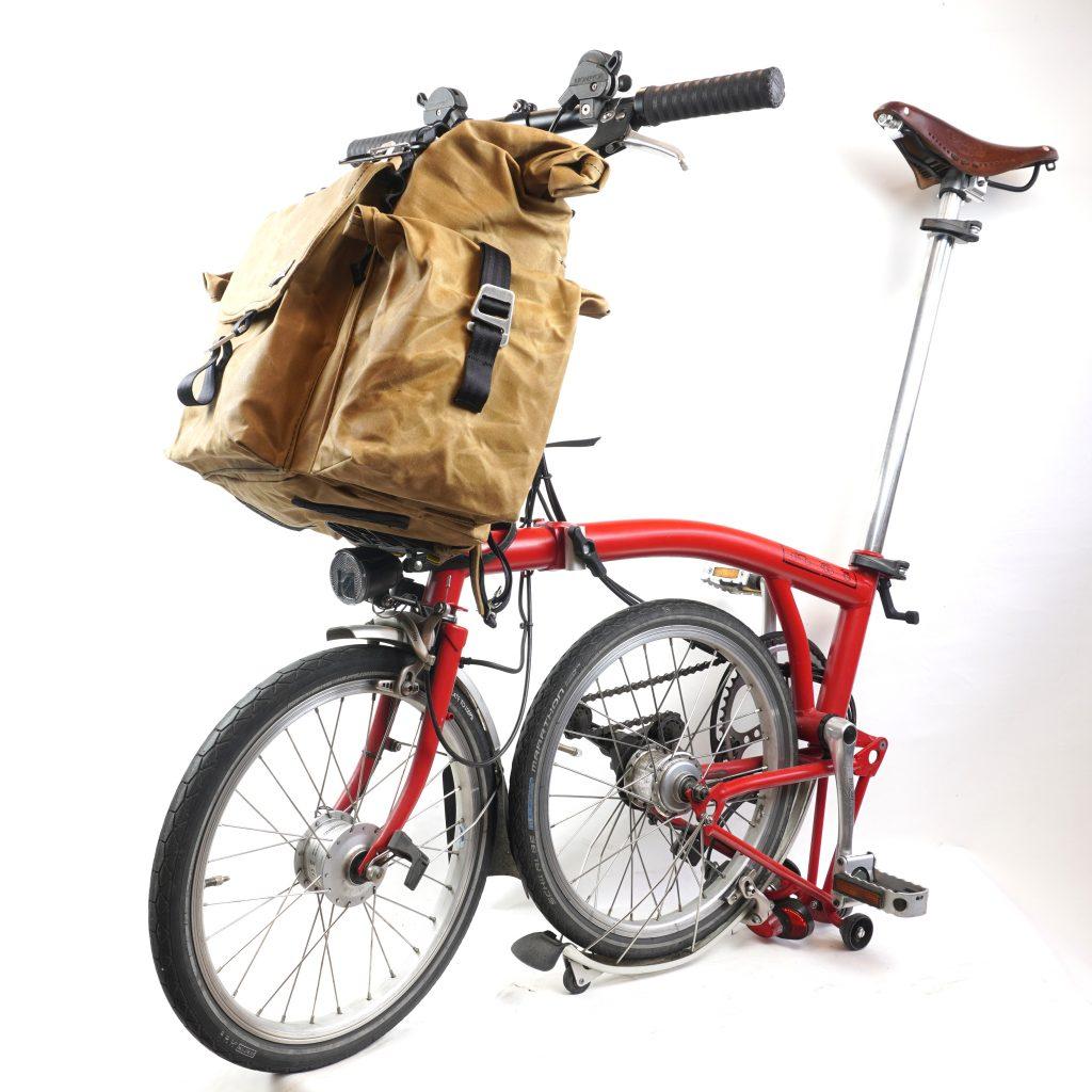 bromfort vorne am bike