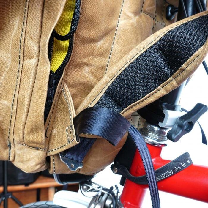"""Rucksack """"Bromfort"""" passend für das Brompton Faltrad 1"""