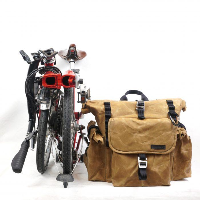 bromfort back tan bike