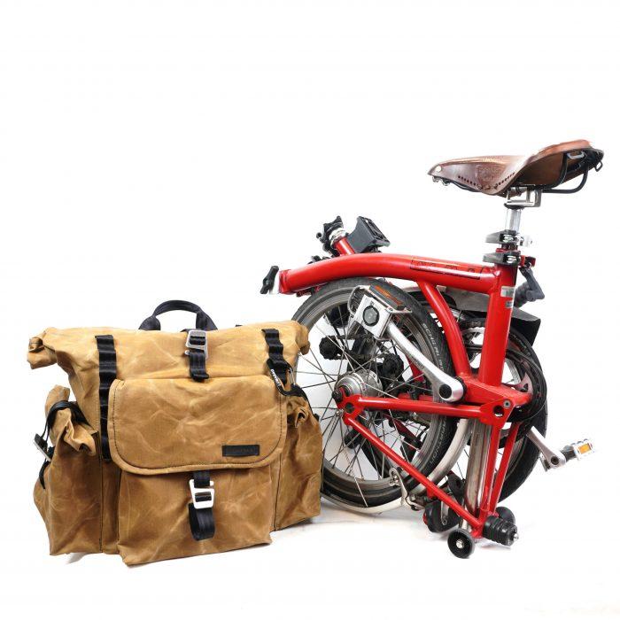 Bromfort with bike side